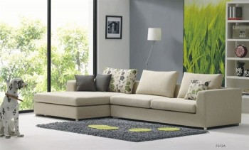 Luxurious Microfiber Corner Sectional Sofa