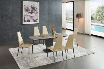 Overnice Marble Designer Table and Chairs Set
