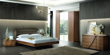 Made in Italy Leather Luxury Bedroom Furniture Sets