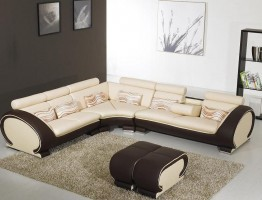 Adjustable Advanced Italian Leather Sectional