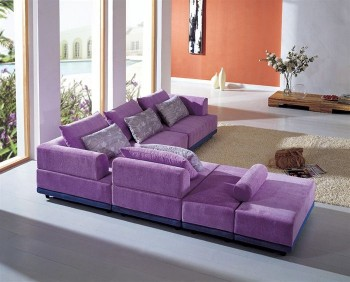 Elite Slipcovered Sectional with Pillows