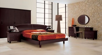 Exclusive Leather Luxury Bedroom Sets with Extra Storage Cases