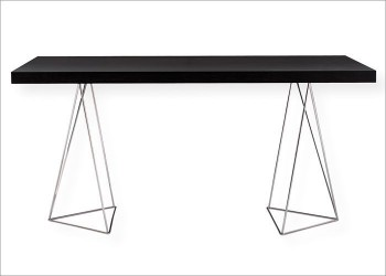 Multi 79 Contemporary Dining Table with Trestles