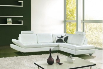 Overnice Bonded Leather Corner Couch