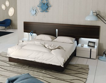 Lacquered Made in Spain Quality Luxury Platform Bed