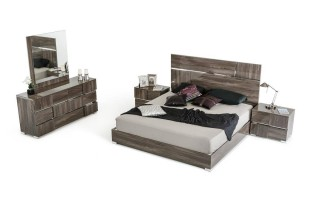 Made in Italy Wood Luxury Elite Bedroom Furniture