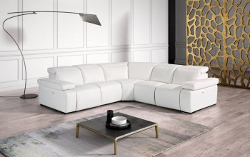 Exquisite Full Italian Leather Sectionals