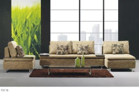 Luxurious Micro Suede Fabric Sectionals