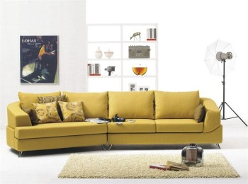 Extravagant Mircofiber Sectional with Chaise