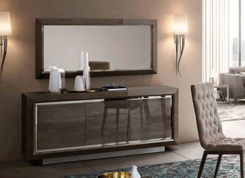 Elite European Modern Buffet in Wood