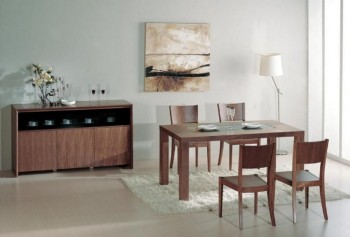 Overnice Glass Top Furniture Dining Set