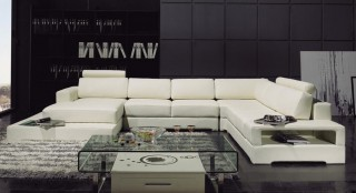 Adjustable Advanced Genuine Leather Sectional