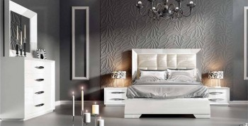 Made in Spain Wood Luxury Bedroom Furniture Sets