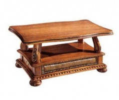 Oakman Wooden Coffee Table