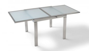 Niagara Tempered Glass Extendable Table