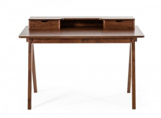 Modern Walnut Office Desk