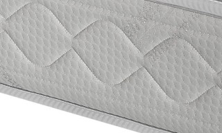 Memory Foam Mattress with Hypoallergenic Fiber from Italy