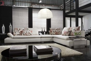 Exotic Slipcovered Sectional Sofa Bed