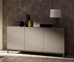Solid Wood Base Contemporary Buffet for Kitchen
