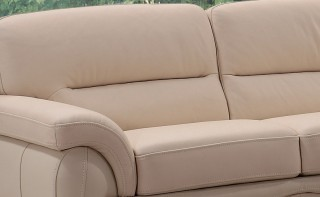Top Grain Italian Leather Sofa Set