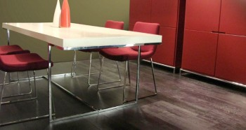 Contemporary Madrid Lacquered Dining Table