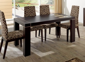 Spain Made Coffe Color Dining Room Table