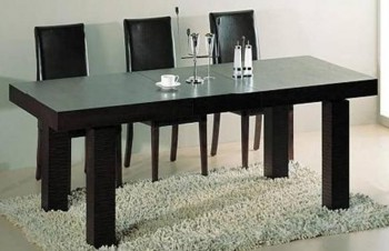 Resolve Contemporary Extendable Dining Table