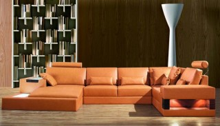 High-class Leather Corner Sectional Sofa