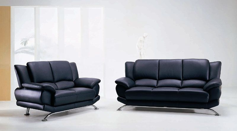Rogers Contemporary Leather Sofa Shop Modern Italian And