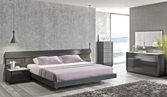 Modern and luxury master bedroom furniture. Italian design
