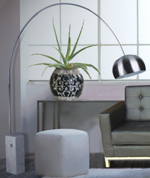 High quality craftsmanship replica our reproduction of the classic arco floor lamp aloadofball Gallery