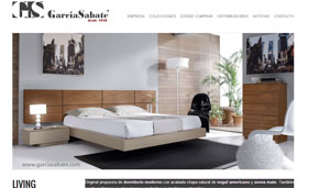 Catalogs: Garcia Sabate, luxurious furniture