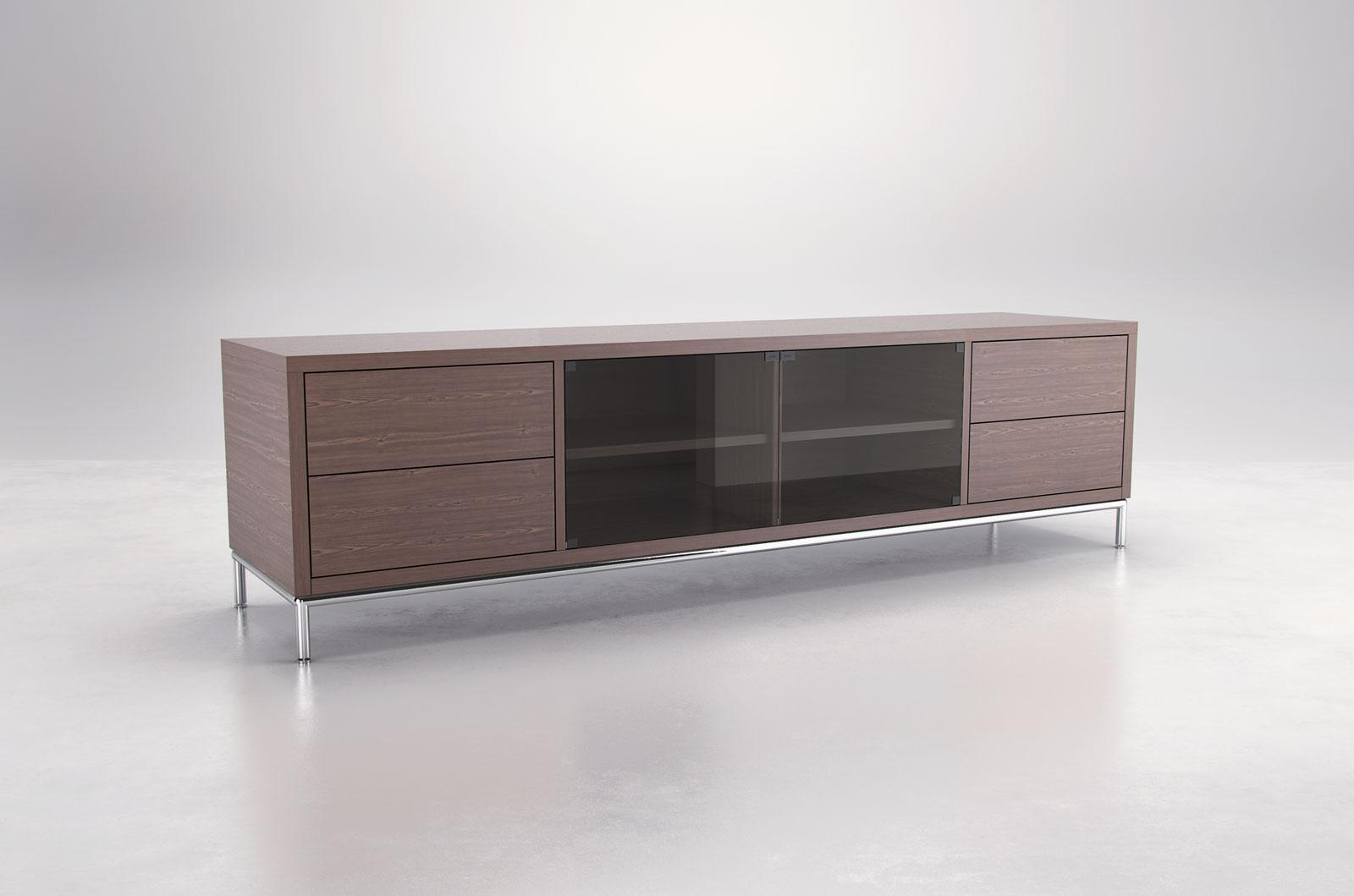 extra long contemporary tv entertainment unit with storage san antonio texas mllen. Black Bedroom Furniture Sets. Home Design Ideas