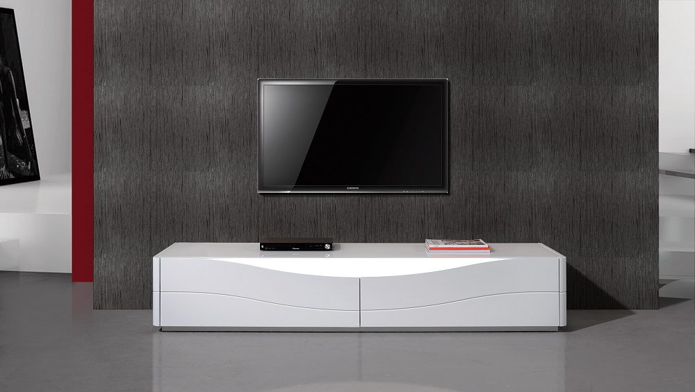 Superbe Popular Two Door Luxury TV Stand With LED Light From Portugal El Paso Texas  Ju0026M ZAO