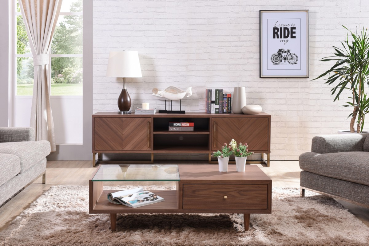 plasma and lcd tv stands stylish accessories walnut wood modern mediaconsole . walnut wood modern media console on legs houston texas vigchevron