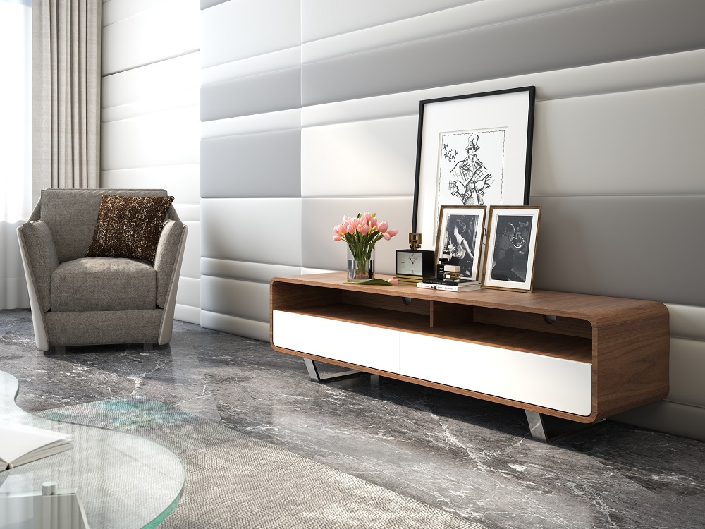 Fashionable Tv Base With Two Color Options Indianapolis