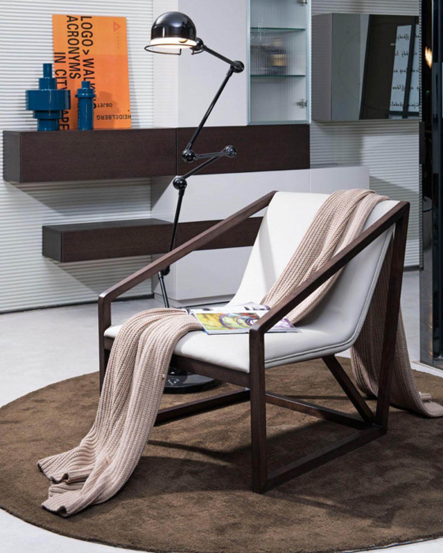 modern grey eco leather brown oak frame chair san antonio texas vig rh primeclassicdesign com vintage metal chair frame victorian iron frame chair