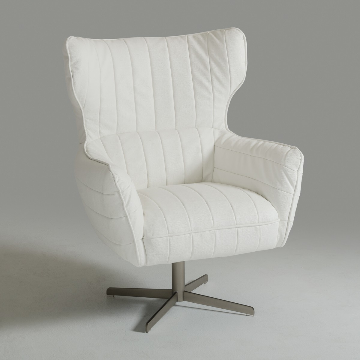 white leather swivel armchair white leather swivel accent chair charlotte north carolina 22013 | white ecoleather swivel chair v casakylie 02