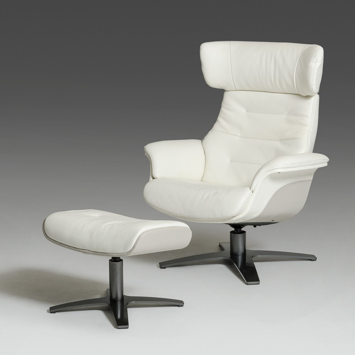 white leather recliner chair with footstool modern white and grey genuine leather reclining chair and 22007 | white grey leather reclining v Casa Ray White Grey