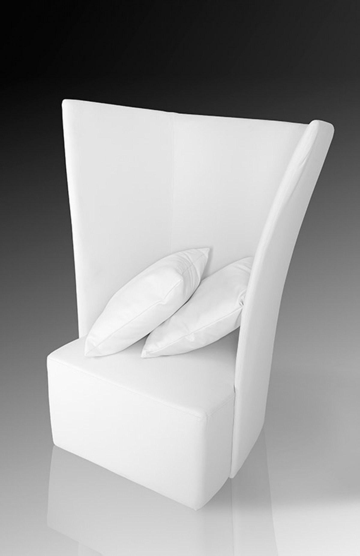 Modern High Back White Leather Leisure Chair Mesa Arizona