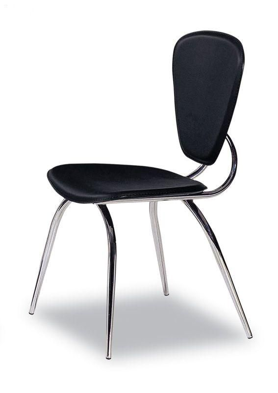 Comfortable Elegant Dining Chair With High Quality Leather
