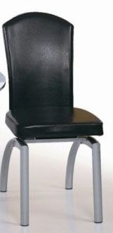 Tubular Steel Frame Constraction Dining Side Chair