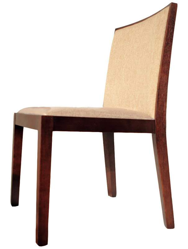 Prime Madera Wood Chair With Off White Knit Fabric Seat And Back Unemploymentrelief Wooden Chair Designs For Living Room Unemploymentrelieforg