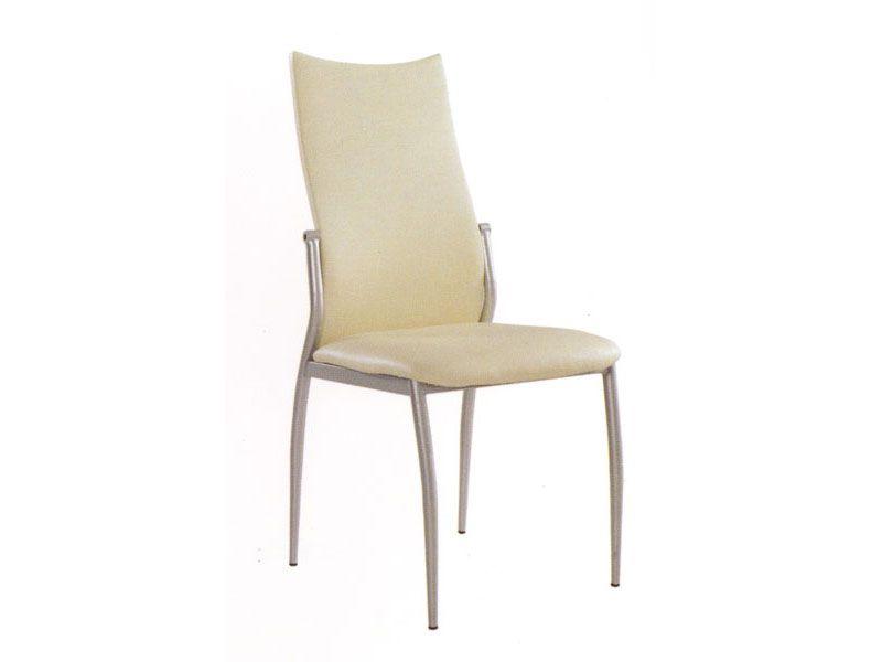 Torino Contemporary Metal Diningroom Chair Raleigh North Carolina P110DC