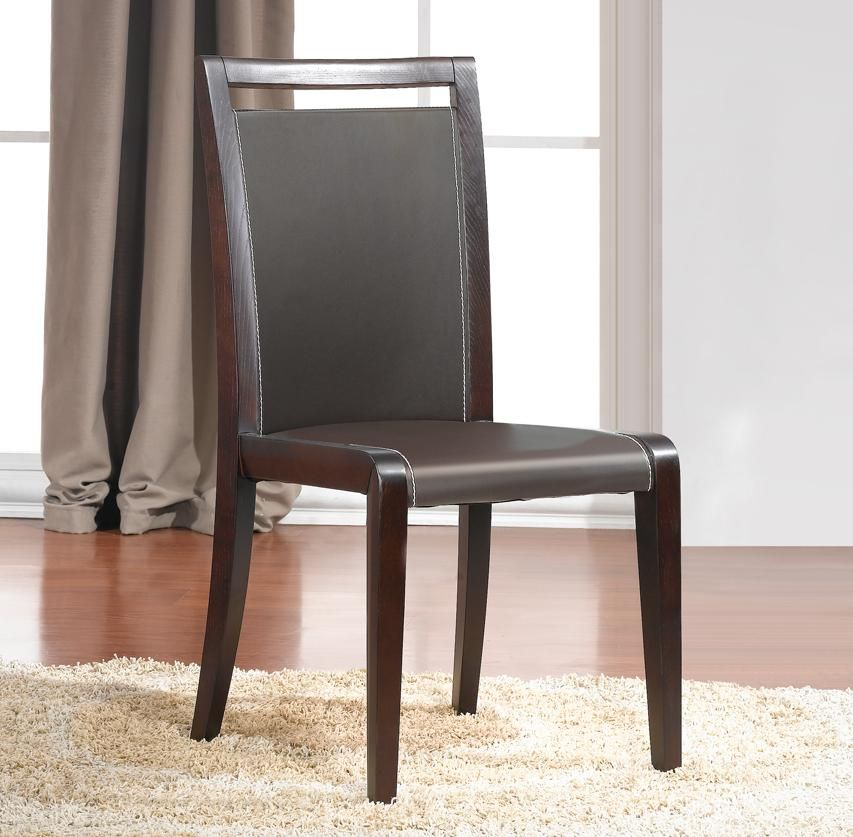 Contemporary italian dining cut back chair oakland for Italian dining chairs modern