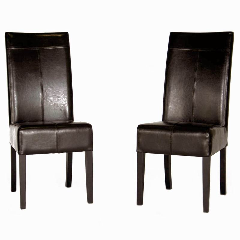 high back leather dining chairs uk images