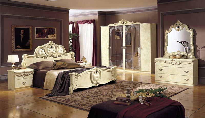 Barocco ivory traditional design night stand prime classic - Sofas de estilo ingles ...