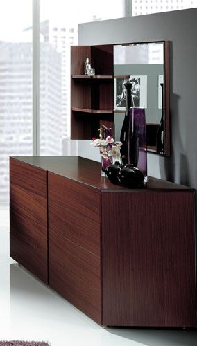 Double Dresser With Mirror And Shelf From Benicarlo 124