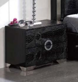Coco Spain Made Night Stand in Black Color