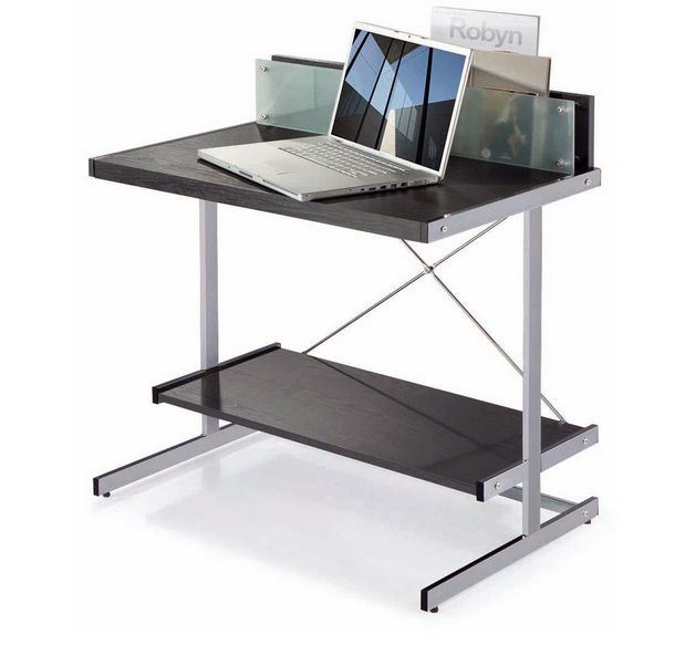laptop modern desk with glass divider laptop modern desk with glass